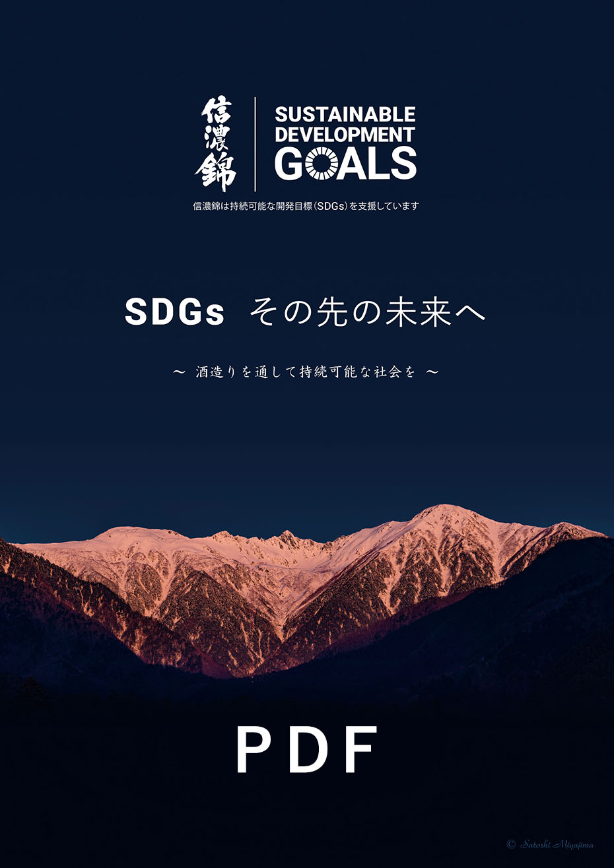 SDGs その先の未来へ(PDF)